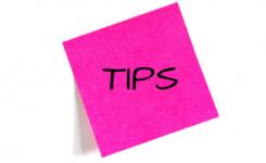 Post-it met tips